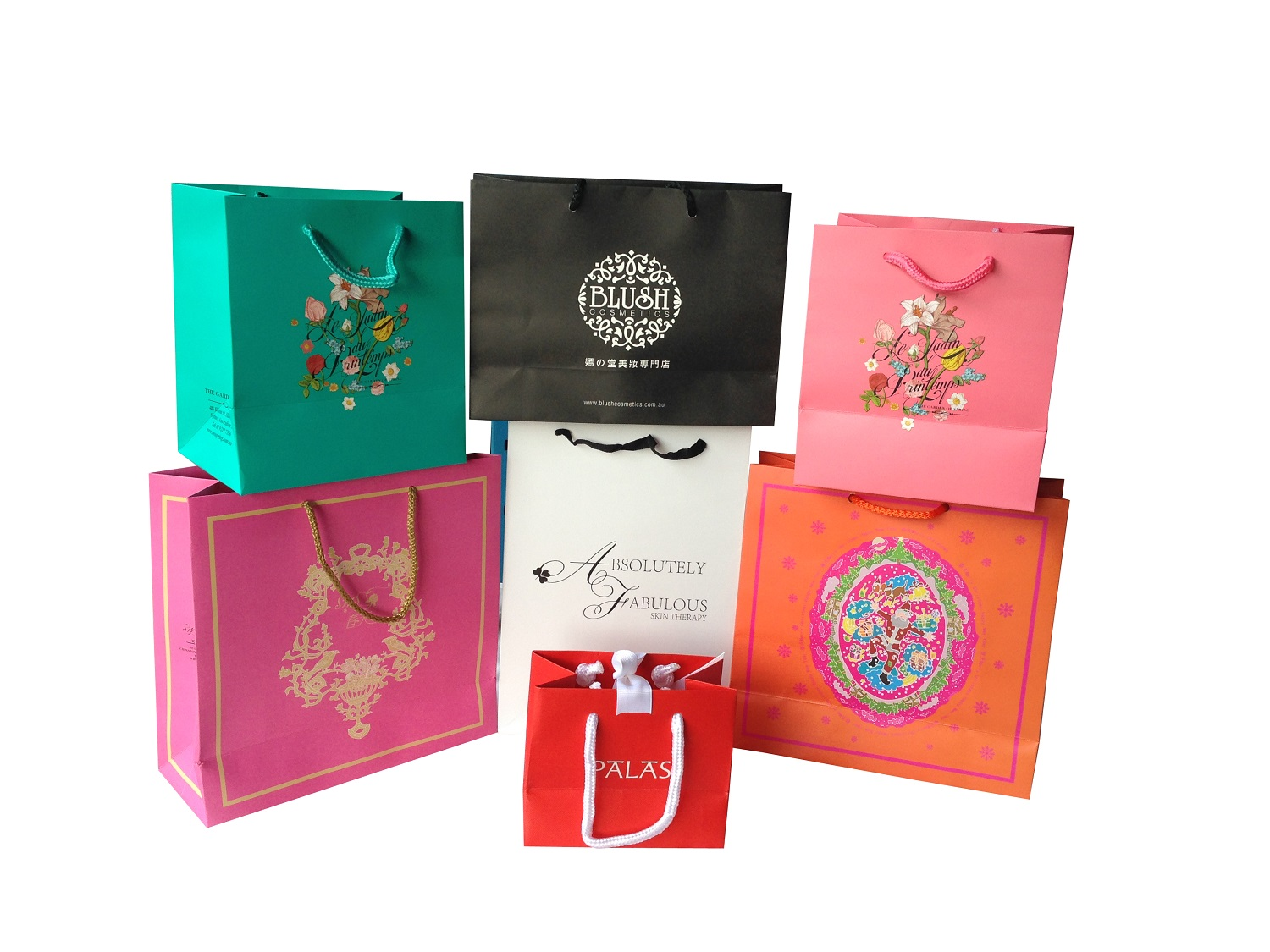 Customised printing Paper bags