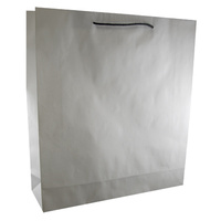Deluxe White Kraft Paper Bags - Ex Large