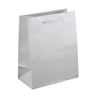 White Glossy Laminated Paper Bags - Baby