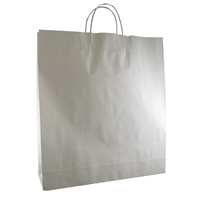 White Kraft Paper Bags - Long (for Boot)