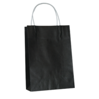 Black Kraft Paper Bags - Toddler
