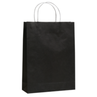 Black Kraft Paper Bags - Medium