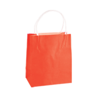 Red Kraft Paper Bags - Toddler