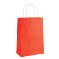 Red Kraft Paper Bags - Junior