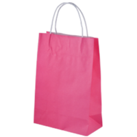 Pink Kraft Paper Bags - Junior