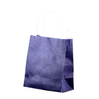 Purple Kraft Paper Bags - Toddler