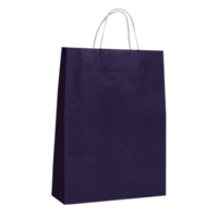 Purple Kraft Paper Bags - Medium