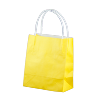 Yellow Kraft Paper Bags - Toddler