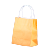 Orange Kraft Paper Bags - Toddler