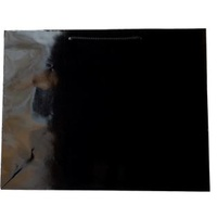 Laminated Gloss Galleria Black Paper Bag