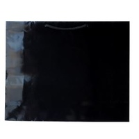 Laminated Gloss Madison Black Paper Bag