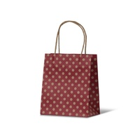 Red Spot Kraft Paper Bag - Toddler, 100pcs