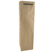 Brown Kraft Single Wine Bag