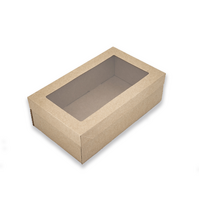 BetaCater™ Catering Box with Window Lid - Ex Small