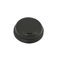 Bio Lid For 12/16 oz Coffee Cup - Black