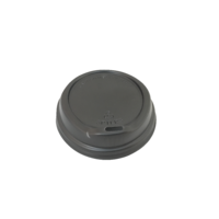 Bio Lid For 6/8 oz Coffee Cup - Black