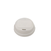 Bio Lid For 6/8 oz Coffee Cup - White
