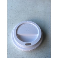 [Clearance] Flat Lid For 12/16 oz Coffee Cups - White