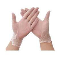 Clear Vinyl Gloves - Medium