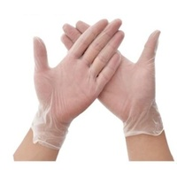 Clear Vinyl Gloves - Small