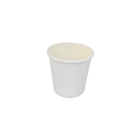 White Single Wall Coffee Cup 4oz