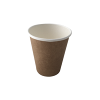 Kraft Single Wall Coffee Cup 8oz