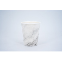 Single Wall Coffee Cup 8oz - Marble
