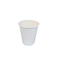 White Single Wall Coffee Cup 8oz