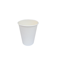 White Single Wall Cup 12oz