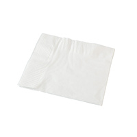 Premium Quality Dinner Napkin 2 Ply 1/4 Fold - White