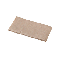 Premium Quilted Dinner Napkin 2 Ply 1/8 Fold - Natural
