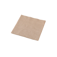 Lunch Napkin 1 Ply 1/4 Fold - Natural