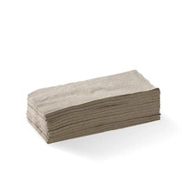Lunch Napkin 2 Ply 1/4 Fold - Natural