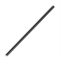 Regular Paper Straw - Black