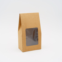 Window Stand-up Pouch Large Kraft, 200 pcs