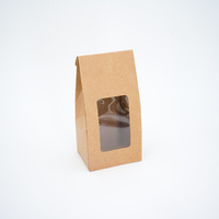 Window Stand-up Pouch Small Kraft, 200 pcs