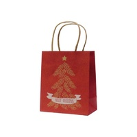Xmas Tree Kraft Paper Bag - Baby, 100 pcs