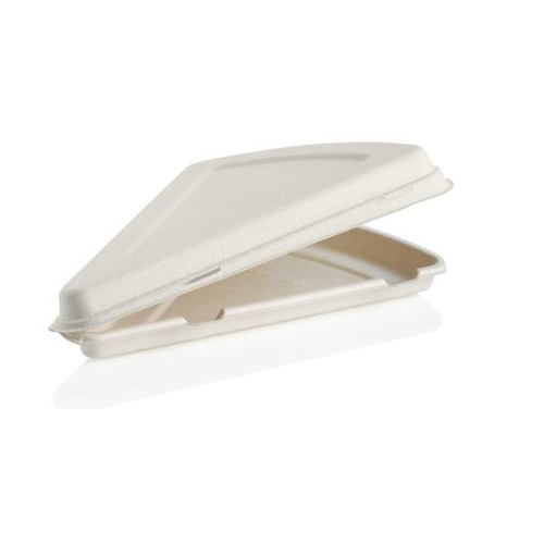 "9"" Pizza Slice Clamshell – Fits a slice of an 18"" pizza"