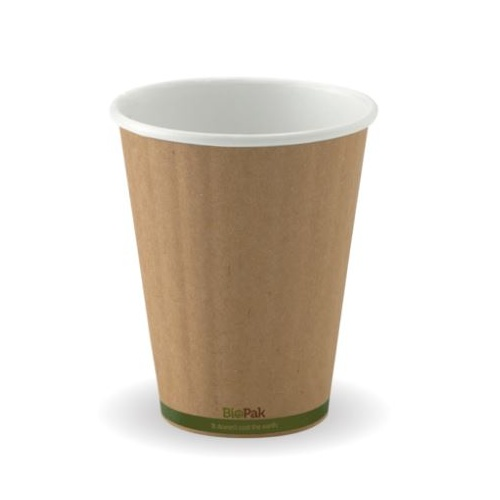 DOUBLE WALL 12 OZ CUP (KRAFT)
