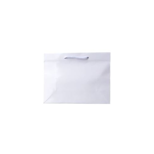 Laminated Gloss Ruby White Paper Bag