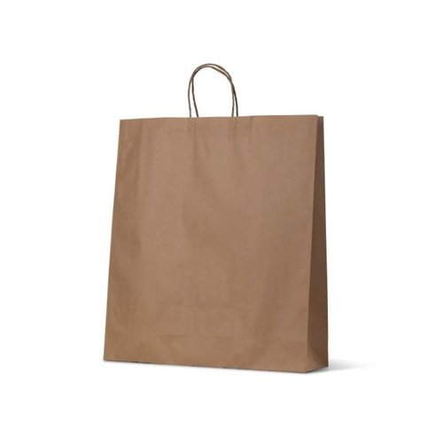 Brown Kraft Paper Bags - X Large, 250 pcs
