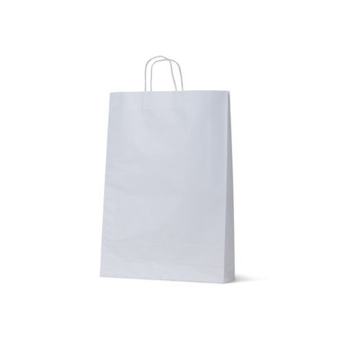 White Kraft Paper Bags - Large