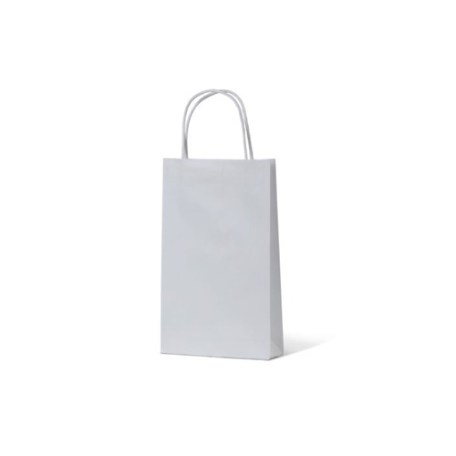 White Kraft Paper Bags - Small