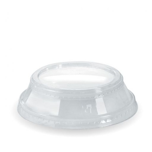 PLA Clear Dome Lid No Hole For 300 - 700ml BioCup