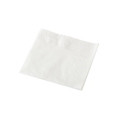 Cocktail Napkin 2 Ply - White