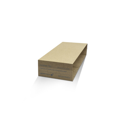 Brown Tray Sleeve Medium-Large 50mm High