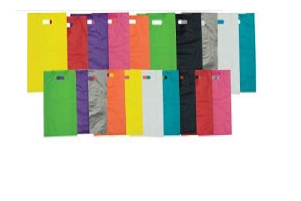 Colored High Density Plastic Bags